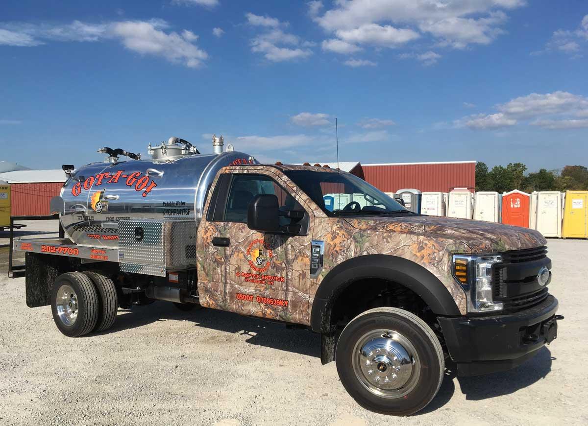 Got-a-go Camo Truck